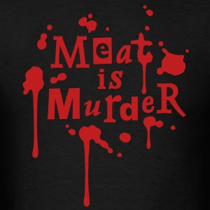 Meat is Murder! - vector T-Shirts - Men's T-Shirt