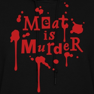 Meat is Murder! - vector Hoodies - Women's Hoodie