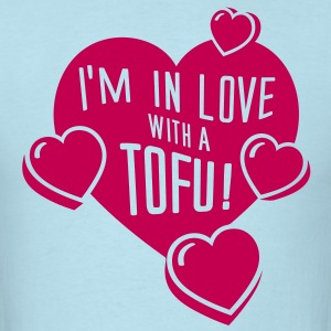 I'm In Love With a Tofu! - vector T-Shirts - Men's T-Shirt
