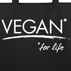 Vegan* for life! - Eco-Friendly Cotton Tote