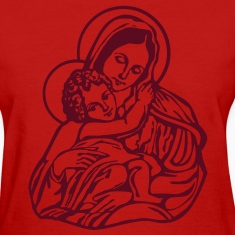 Mary and Jesus Women's T-Shirts