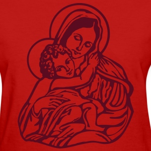 Mary and Jesus Women's T-Shirts - Women's T-Shirt