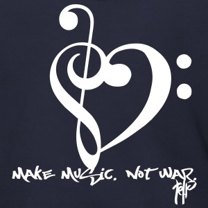 Make Music. Not War. Zip Hoodies/Jackets - Men's Zip Hoodie