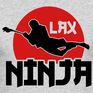 LAX Ninja Long Sleeve Shirts - Men's Long Sleeve T-Shirt by Next Level