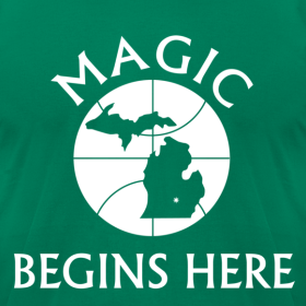 Design ~ MAGIC BEGINS HERE GREEN