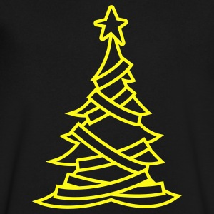 SIMPLE adorned CHRISTMAS tree with a north star T-Shirts - Men's V-Neck T-Shirt by Canvas
