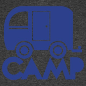 caravan camper camp T-Shirts - Men's V-Neck T-Shirt by Canvas