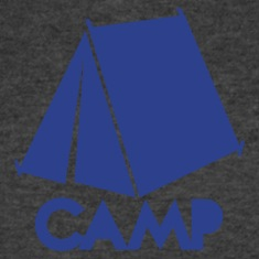 camp with tent T-Shirts