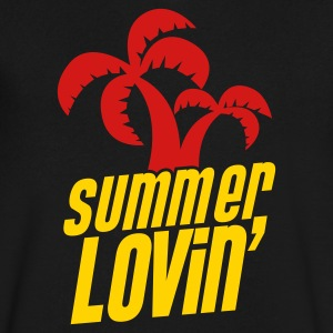 summer lovin funny holiday shirt T-Shirts - Men's V-Neck T-Shirt by Canvas