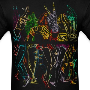 Monster Party Neon - Men's T-Shirt