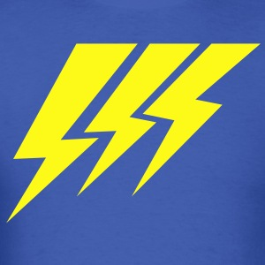 THREE STRIKE LIGHTNING lightning strikes T-Shirts - Men's T-Shirt