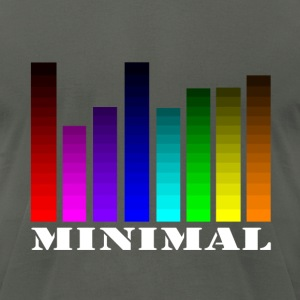 Equalizer minimal T-Shirts - Men's T-Shirt by American Apparel