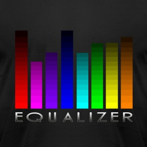 Equalizer T-Shirts - Men's T-Shirt by American Apparel