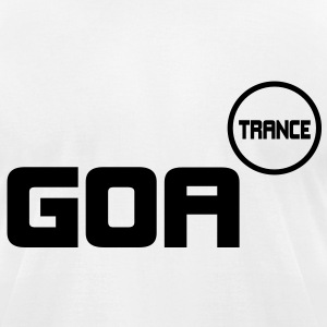 Goa Copy Trance T-Shirts - Men's T-Shirt by American Apparel