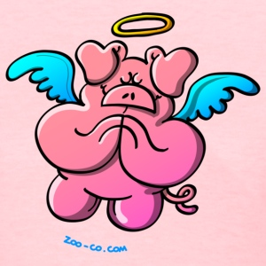 Pig Angel Praying Women's T-Shirts - Women's T-Shirt