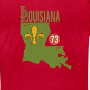 louisiana - Men's T-Shirt by American Apparel