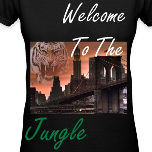Welcome to the jungle - Women's V-Neck T-Shirt