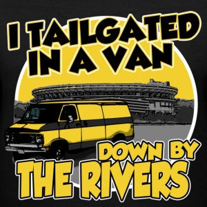 I Tailgated In A Van Down By The Rivers Women's T-Shirts - Women's V-Neck T-Shirt