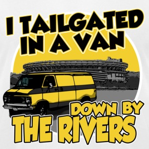 I tailgated In A Van Down By The Rivers T-Shirts - Men's T-Shirt by American Apparel