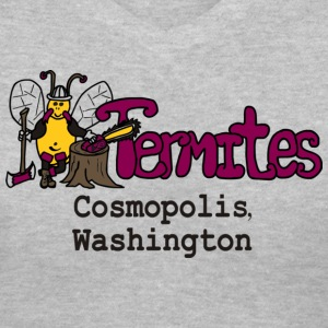 Womans Termites V Neck T-shirt - Women's V-Neck T-Shirt