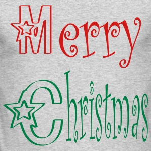Merry Christmas - Men's Long Sleeve T-Shirt by Next Level