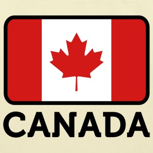 Flag Canada 2 (3c)++ Bags  - Eco-Friendly Cotton Tote