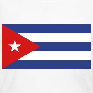 Flag Cuba (3c)++ Long Sleeve Shirts - Women's Long Sleeve Jersey T-Shirt
