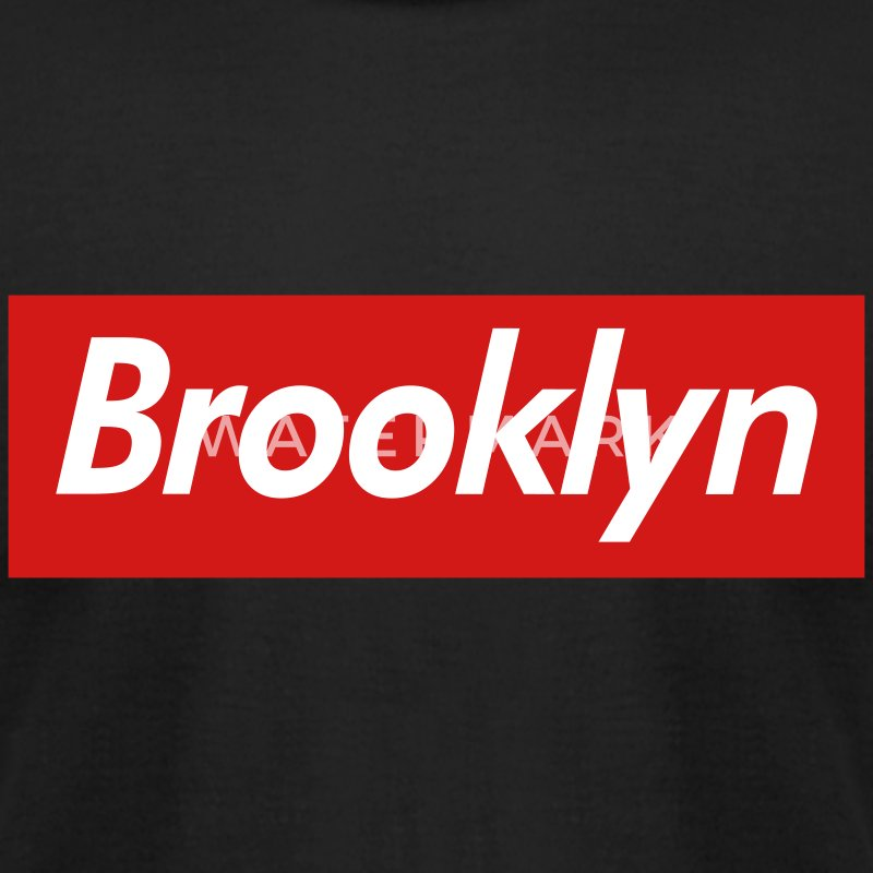 Brooklyn Reigns Supreme T-Shirts - Men's T-Shirt by American Apparel