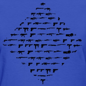 Guns Guns Guns - Women's T-Shirt