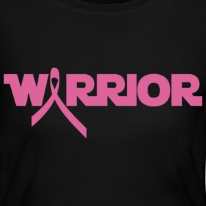 Pink Ribbon Breast Cancer Warrior Long Sleeve Shirts - Women's Long Sleeve Jersey T-Shirt