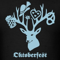 t-shirt oktoberfest bavaria munich germany stag party beer pretzel T-Shirts