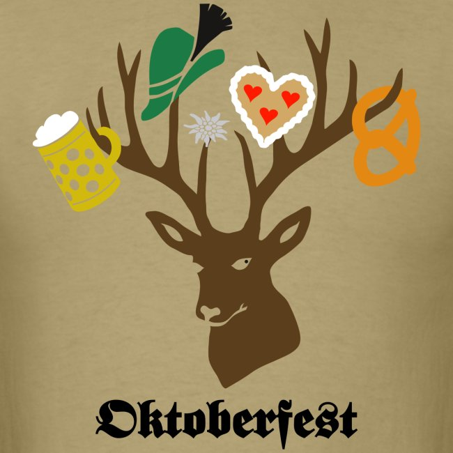 t-shirt oktoberfest bavaria munich germany stag party beer pretzel edelweiss T-Shirts