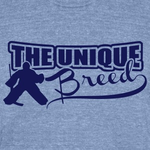 The Unique Breed (hockey goalies) T-Shirts - Unisex Tri-Blend T-Shirt by American Apparel