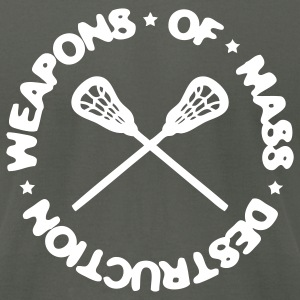 Weapons Of Mass Destruction (lacrosse) T-Shirts - Men's T-Shirt by American Apparel