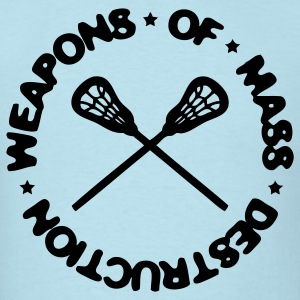 Weapons Of Mass Destruction (lacrosse) T-Shirts - Men's T-Shirt