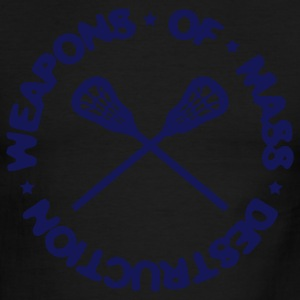 Weapons Of Mass Destruction (lacrosse) T-Shirts - Men's Ringer T-Shirt