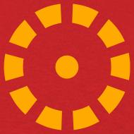 Design ~ Iron Man Arc Reactor Costume T-Shirt - Neon Orange