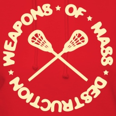 Weapons Of Mass Destruction (lacrosse) Hoodies