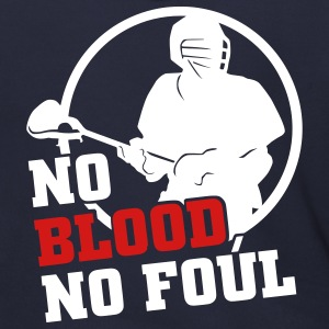 No Blood No Foul (lacrosse) Zip Hoodies/Jackets - Men's Zip Hoodie