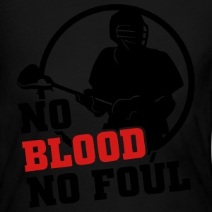 No Blood No Foul (lacrosse) Long Sleeve Shirts - Women's Long Sleeve Jersey T-Shirt