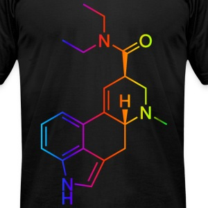 lsd t-shirt colored T-Shirts - Men's T-Shirt by American Apparel