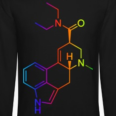 lsd t-shirt colored Long Sleeve Shirts