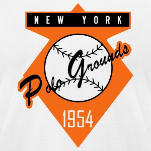 Polo Grounds 1954 (American Apperal) - Men's T-Shirt by American Apparel