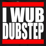 Design ~ I Wub Dubstep Men's Hooded Sweatshirt