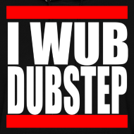 Design ~ I Wub Dubstep Women's Hooded Sweatshirt
