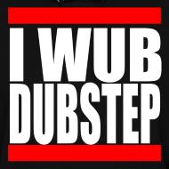 Design ~ I Wub Dubstep Women's Hooded Sweatshirt