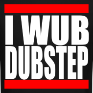 Design ~ I Wub Dubstep Men's Crew Neck Sweatshirt