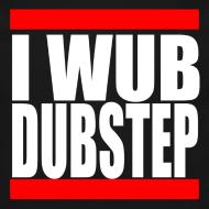 Design ~ I Wub Dubstep Men's Crew Neck Sweatshirt