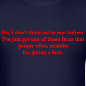 One of Those Faces T-Shirts - Men's T-Shirt