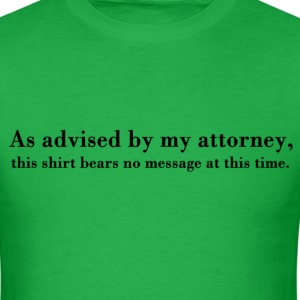 Attorney's Advice T-Shirts - Men's T-Shirt